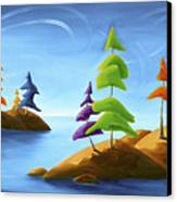 Island Carnival Canvas Print