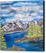 Island Cove Canvas Print