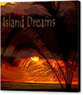 Island Dreams Canvas Print by Gerlinde Keating - Galleria GK Keating Associates Inc