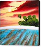 Island Fever Canvas Print