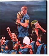 Italia The Blues Canvas Print