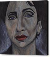 Italian War Widow Canvas Print