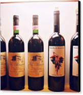 Italian Wines Canvas Print