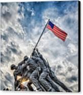 Iwo Jima Memorial Canvas Print by Susan Candelario