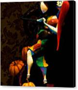 Jack And Sally Canvas Print by Thanh Thuy Nguyen