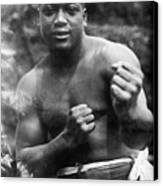 Jack Johnson (1878-1946) Canvas Print