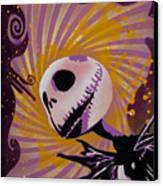 Jack Skellington Canvas Print by Tai Taeoalii