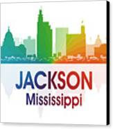 Jackson Ms Canvas Print by Angelina Vick