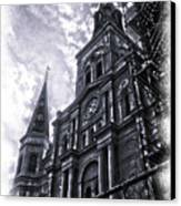 Jackson Square Cathedral Canvas Print