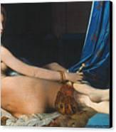J.a.d. Ingres: Odalisque Canvas Print by Granger