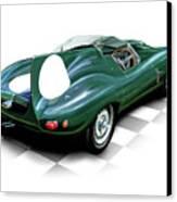 Jaguar D Type Canvas Print