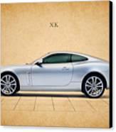 Jaguar Xk Canvas Print by Mark Rogan