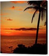 Jamaican Sunset Canvas Print by Kamil Swiatek