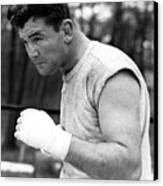 James Braddock In Training For Upcoming Canvas Print by Everett