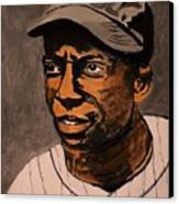 James Cool Papa Bell Canvas Print by Ralph LeCompte
