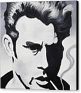 James Dean  Canvas Print by Joseph Palotas
