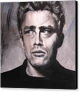 James Dean Two Canvas Print by Eric Dee