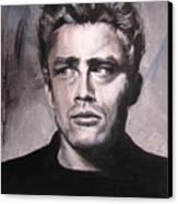James Dean Two Canvas Print