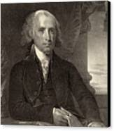 James Madison - Fourth President Of The United States Of America Canvas Print by International  Images