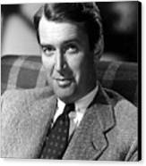 James Stewart, C. 1940s Canvas Print