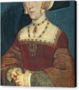 Jane Seymour Canvas Print by Holbein