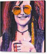 Janis Joplin 2 Canvas Print by Eric Dee