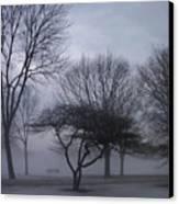 January Fog 6 Canvas Print