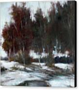 January Thaw Canvas Print