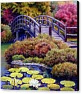 Japanese Bridge Canvas Print