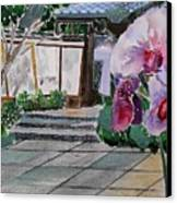 Japanese Garden Canvas Print