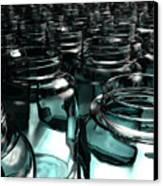 Jars Canvas Print by Joel Lueck