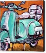 Jayne Jadeite Canvas Print by Sheila Tajima