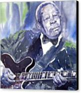 Jazz B B King 01 Canvas Print