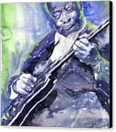 Jazz B B King 02 Canvas Print