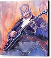 Jazz B.b. King 03 Canvas Print