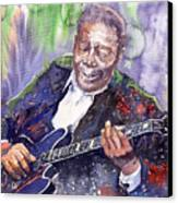 Jazz B B King 06 Canvas Print