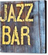 Jazz Bar Canvas Print by Keith Sanders