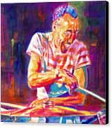 Jazz Beat Canvas Print