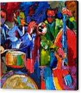 Jazz Beat Canvas Print