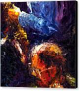 Jazz Duet Canvas Print