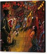 Jazz It Up Canvas Print by Yxia Olivares