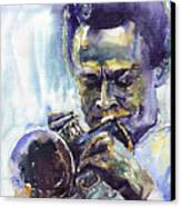 Jazz Miles Davis 10 Canvas Print
