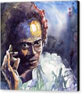 Jazz Miles Davis 11 Canvas Print