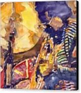 Jazz Miles Davis Electric 2 Canvas Print