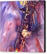 Jazz Miles Davis Electric 3 Canvas Print