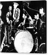 Jazz Musicians, C1925 Canvas Print