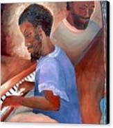Jazzmen Canvas Print
