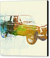 Jeep Wagoneer Canvas Print