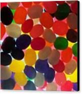 Jellybeans Canvas Print by Anna Villarreal Garbis