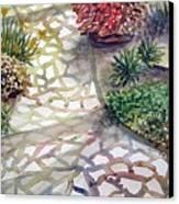 Jennifers Garden Canvas Print